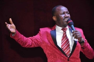 See Car Apostle Suleman Gifted Church Member Today (Photos)